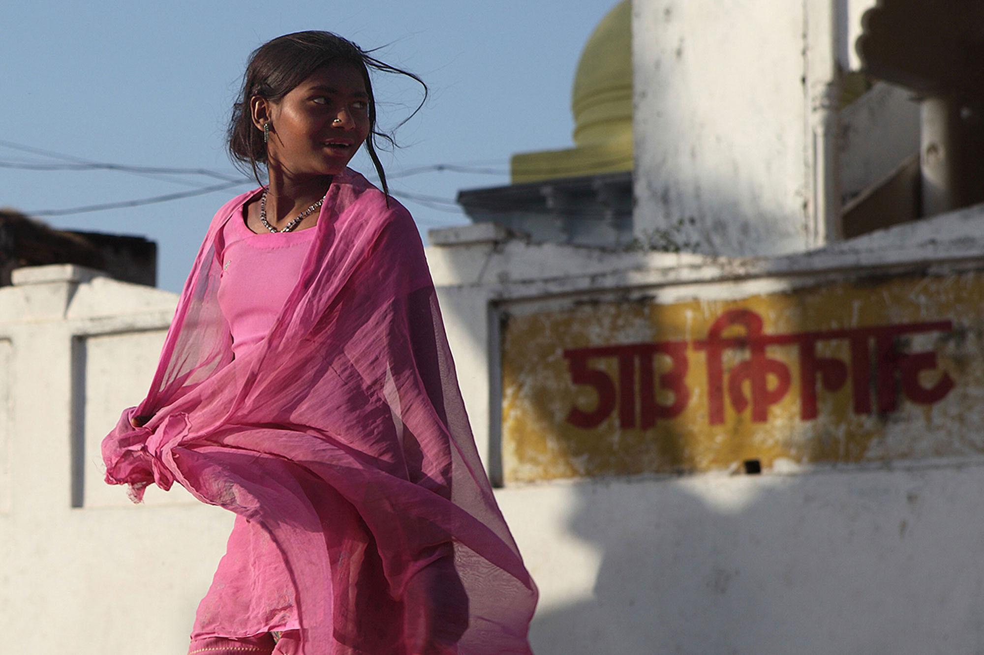 Fotograf Siering Kontakt — Indisches Mädchen