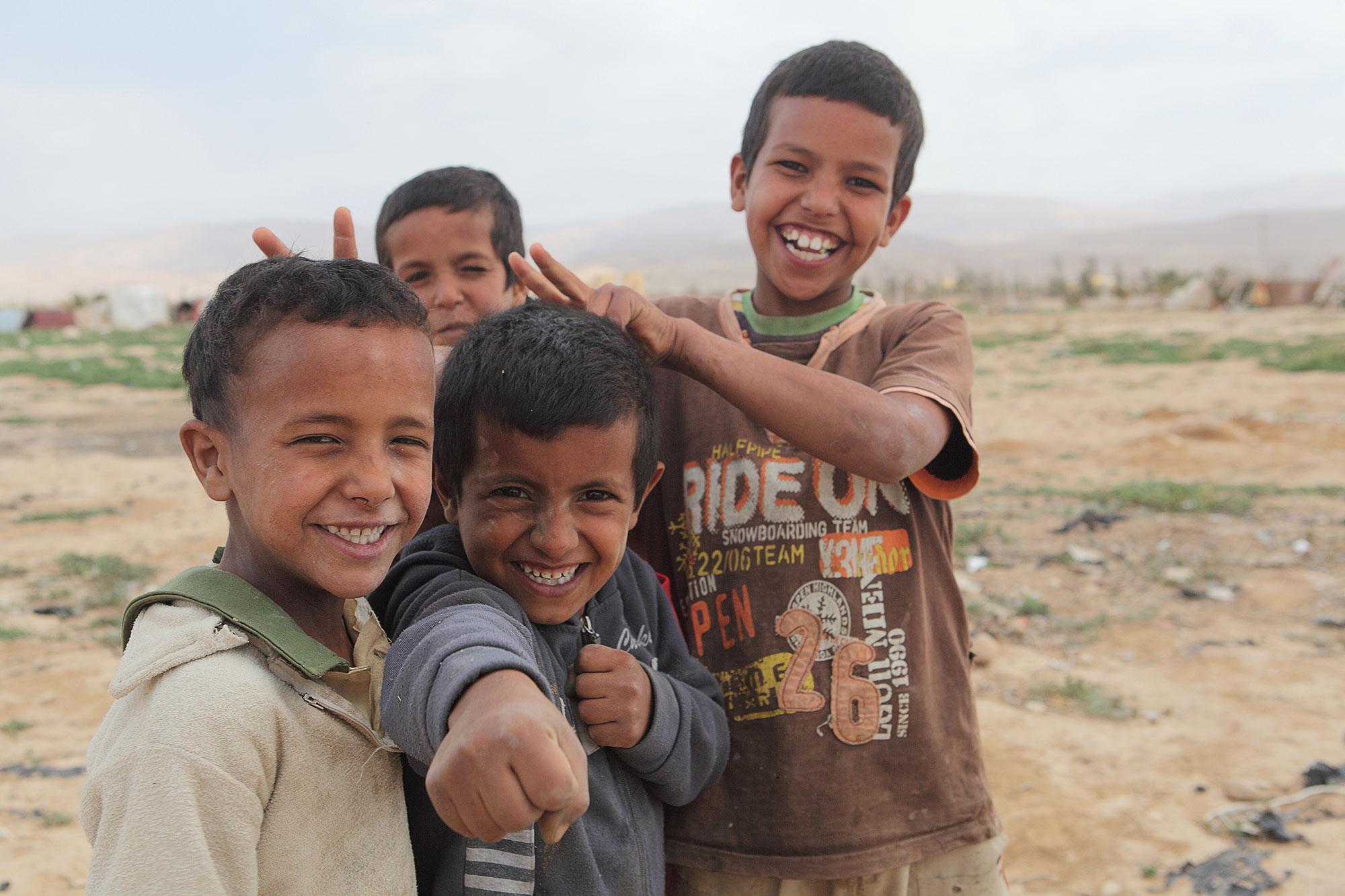 Foto-Reportage — Zigeunerjungen in Jordanien
